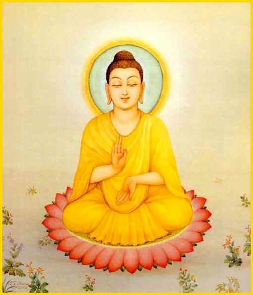 soutra - Soutrâ des comportements bénéfiques - Mahâ-Mângala Soutrâ Bouddha